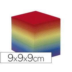 Taco papel quo vadis encolado colores arco iris 680 hojas 100%