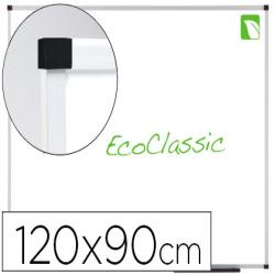 Pizarra blanca nobo nano clean magnetica lacada 120x90 cm