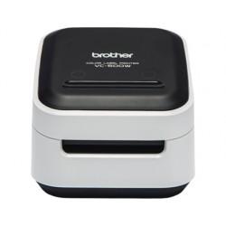 Impresora de etiquetas brother color vc-500w hasta 50 mm impresion 8 mm / segundo cortador automatico
