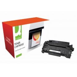 Toner q-connect compatible hp ce255a para laserjet p3015 / p3015d / 3015dn / 3015x -6.000pag- negro