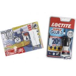 Pegamento loctite 5 gr aplicador de pincel adhesivo instantaneo caja 18+3