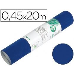 Rollo adhesivo liderpapel unicolor azul brillo rollo de 0,45 x 20 mt