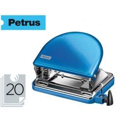 Taladrador petrus 52 wow azul metalizado capacidad 20 hojas en blister