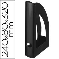 Revistero plastico q-connect negro opaco