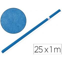 Papel kraft liderpapel azul -rollo 25x1 mt