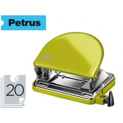 Taladrador petrus 52 wow verde metalizado capacidad 20 hojas en blister