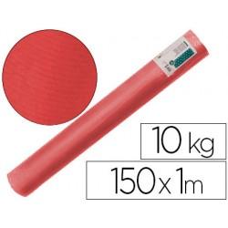 Papel kraft verjurado liderpapel rojo 150mt 65gr bobina 10kg