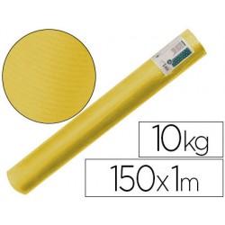 Papel kraft verjurado liderpapel amarillo 153 mt 65 gr bobina 10 kg