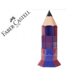 Lapices de grafito faber ecolapiz janus 2160 bicolor expositor 120