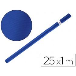 Papel kraft liderpapel azul azurita turquesa rollo 25x1 mt