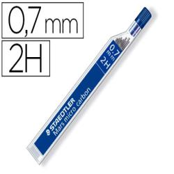 Minas staedtler mars micro grafito 0,7 mm 2h tubo con 12 unidades