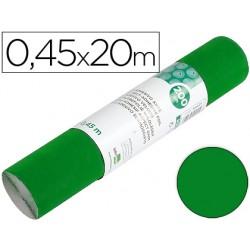 Rollo adhesivo liderpapel unicolor verde brillo rollo de 0,45 x 20 mt