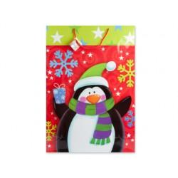 Bolsa de regalo con motivos navideño 51x71x18cm
