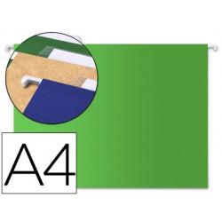 Carpeta colgante liderpapel a4 verde