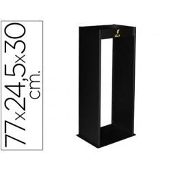 Cenicero metalico con rejilla para arena negro 770x245x300 mm