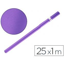 Papel kraft liderpapel violeta rollo 25x1 mt