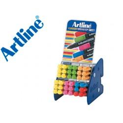 Set rotuladores artline fluorescente ek 660 expositor de 36 unidades surtidas