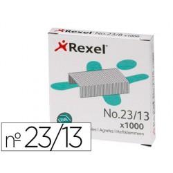 Grapas rexel 23/13 acero caja 1000 unidades