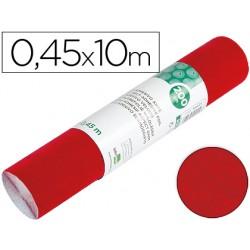 Rollo adhesivo liderpapel especial ante rojo rollo de 0,45 x 10 mt