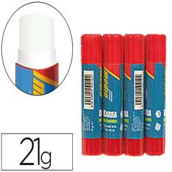 Pegamento imedio en barra 21gr -blister de 4 unidades-m