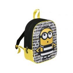 Cartera escolar minions niño 3d mochila 32x26x10 cm