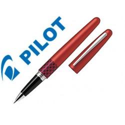 Boligrafo pilot urban mr retro pop rojo 0,7 mm con estuche y bolsa