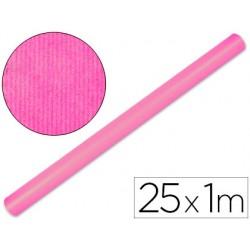 Papel kraft liderpapel rosa rollo 25x1 mt