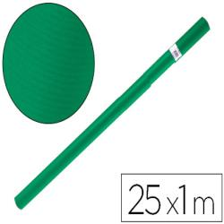 Papel kraft liderpapel verde musgo rollo 25x1 mt