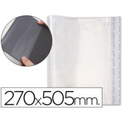 Forralibro pp ajustable adhesivo 270x505 mm -blister