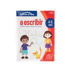 Cuaderno de colorear actividades aprendo en casa 4-5 años 16 paginas 210x280 mm
