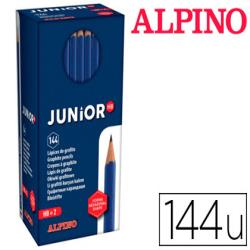 Lapices de grafito masats junior caja de 144 unidades