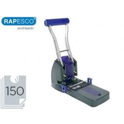 Taladrador rapesco p2200 negro / morado 2 taladros gran capacidad 150 hojas