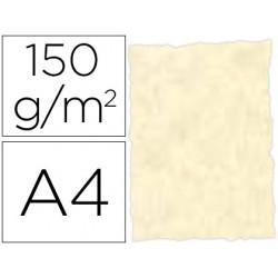 Papel pergamino din a4 troquelado 150 gr color parchment topacio paquete de 25 hojas