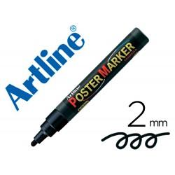 Rotulador artline poster marker epp-4-neg punta redonda 2 mm color negro