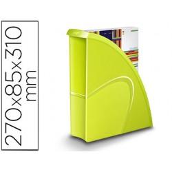 Revistero cep plastico uso vertical / horizontal verde 85x270x310 mm