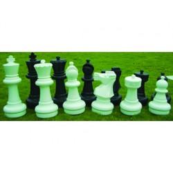 Ajedrez gigante amayacon 32 piezas 16 blancas y 16 negras