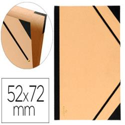 Carpeta dibujo canson tendence 52x72 cm con gomas kraft