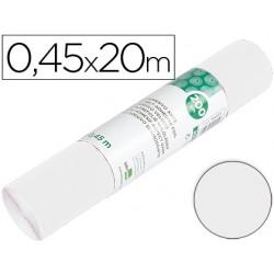 Rollo adhesivo liderpapel unicolor blanco brillo rollo de 0,45 x 20 mt