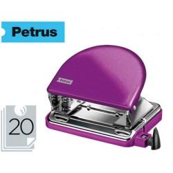 Taladrador petrus 52 wow violeta metalizado capacidad 20 hojas en blister