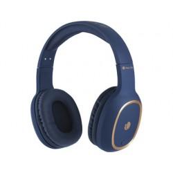 Auricular ngs artica pride bluetooh con microfono diadema ajustable color azul