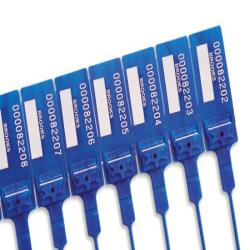Precinto de seguridad archivo 2000 para urna electoral pack de 10 unidades 2,5x240x8 mm