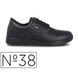 Zapato de seguridad paredes ocupacional hydra negro talla 38