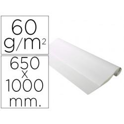 Recambio para pizarra congreso exacompta papel ecologico 60g/m2 liso 50 hojas 65x100 cm