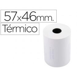Rollo sumadora exacompta termico 57 mm x 46 mm 55 g/m2 sin bisfenol a