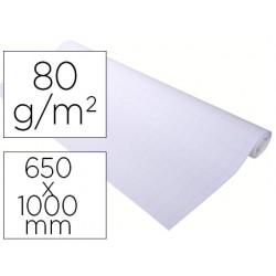 Recambio para pizarra congreso exacompta papel premium offset 80g/m2 cuadro 25x25 mm 20 hojas 65x100 cm
