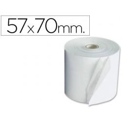 Rollo sumadora exacompta electro 57 mm x 70 mm 60 g/m2