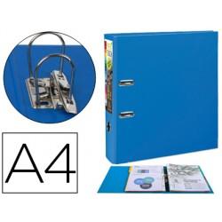 Archivador de palanca exacompta prem touch polipropileno din a4+ lomo 80 mm azul