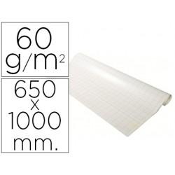 Recambio para pizarra congreso exacompta papel 60g/m2 cuadro 25x25 mm 48 hojas 65x100 cm