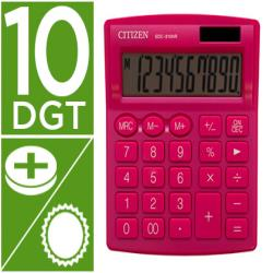Calculadora citizen sobremesa sdc-810 nrpke 10 digitos 124x102x25 mm rosa