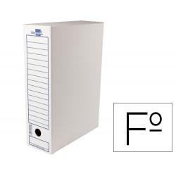 Caja archivo definitivo liderpapel carton 340 g/m2 folio